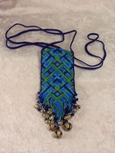 Micro Macrame Pouch (private collection)